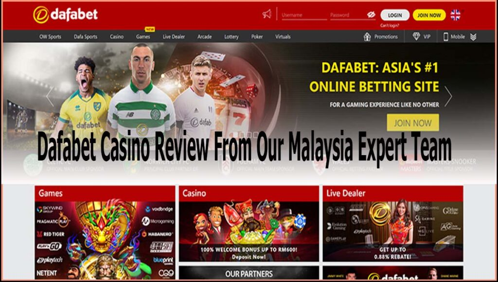 Dafabet Casino Review From Our Malaysia Expert Team