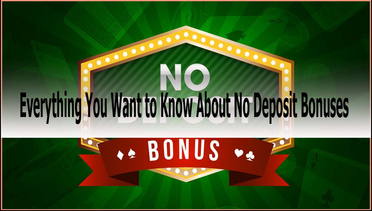 Everything You Want to Know About No Deposit Bonuses